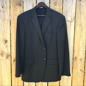 Jos A Bank | Tailored Fit Glen Plaid Blazer Sz 42R
